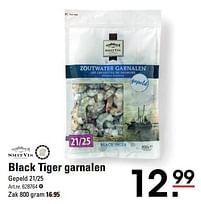 Aanbiedingen Black tiger garnalen - Smit Vis - Geldig van 22/07/2021 tot 09/08/2021 bij Sligro