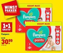 Aanbiedingen Pampers - Pampers - Geldig van 21/07/2021 tot 03/08/2021 bij Makro