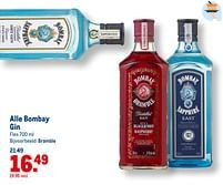 Aanbiedingen Bombay gin bramble - Bombay - Geldig van 21/07/2021 tot 03/08/2021 bij Makro