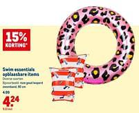 Aanbiedingen Roze goud leopard zwemband - Huismerk - Makro - Geldig van 21/07/2021 tot 03/08/2021 bij Makro