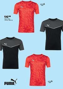 Aanbiedingen T-shirt - puma - Puma - Geldig van 30/07/2021 tot 22/08/2021 bij Bristol