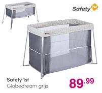 Aanbiedingen Safety 1st globedream grijs - Safety 1st - Geldig van 01/08/2021 tot 07/08/2021 bij Baby & Tiener Megastore