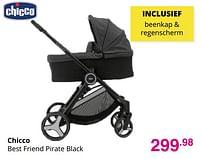 Aanbiedingen Chicco best friend pirate black - Chicco - Geldig van 01/08/2021 tot 07/08/2021 bij Baby & Tiener Megastore