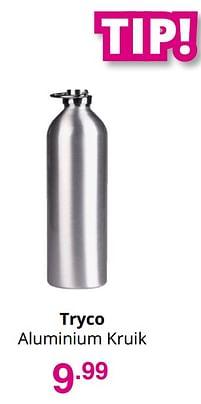 Aanbiedingen Tryco aluminium kruik - Tryco - Geldig van 01/08/2021 tot 07/08/2021 bij Baby & Tiener Megastore