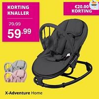 Aanbiedingen X-adventure home - Xadventure - Geldig van 01/08/2021 tot 07/08/2021 bij Baby & Tiener Megastore
