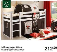 Aanbiedingen Halfhoogslaper milan - Huismerk - Baby & Tiener Megastore - Geldig van 01/08/2021 tot 07/08/2021 bij Baby & Tiener Megastore
