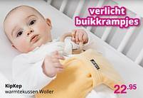 Aanbiedingen Kipkep warmtekussen woller - KipKep - Geldig van 01/08/2021 tot 07/08/2021 bij Baby & Tiener Megastore
