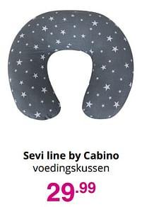 Aanbiedingen Sevi line by cabino voedingskussen - Cabino - Geldig van 01/08/2021 tot 07/08/2021 bij Baby & Tiener Megastore
