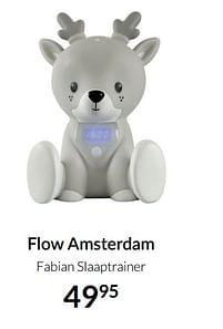 Aanbiedingen Flow amsterdam fabian slaaptrainer - Flow Amsterdam - Geldig van 17/08/2021 tot 20/09/2021 bij Babypark