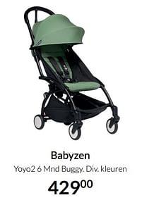 Aanbiedingen Babyzen yoyo2 6 mnd buggy - Babyzen - Geldig van 17/08/2021 tot 20/09/2021 bij Babypark