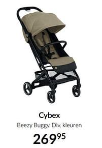 Aanbiedingen Cybex beezy buggy - Cybex - Geldig van 17/08/2021 tot 20/09/2021 bij Babypark