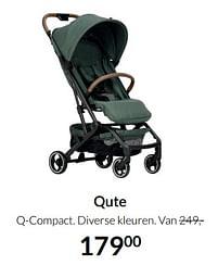 Aanbiedingen Qute q-compact - Qute - Geldig van 17/08/2021 tot 20/09/2021 bij Babypark