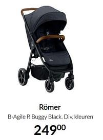 Aanbiedingen Römer b-agile r buggy black - Romer - Geldig van 17/08/2021 tot 20/09/2021 bij Babypark