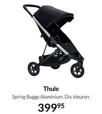 Aanbiedingen Thule spring buggy aluminium - Thule - Geldig van 17/08/2021 tot 20/09/2021 bij Babypark