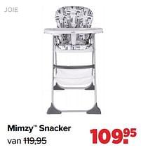 Aanbiedingen Mimzy snacker - Joie - Geldig van 30/08/2021 tot 25/09/2021 bij Baby-Dump