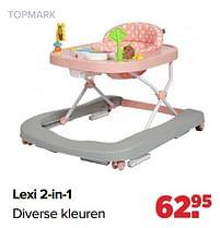 Aanbiedingen Lexi 2-in-1 - Topmark - Geldig van 30/08/2021 tot 25/09/2021 bij Baby-Dump