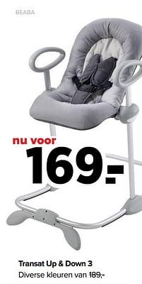 Aanbiedingen Transat up + down 3 - Beaba - Geldig van 30/08/2021 tot 25/09/2021 bij Baby-Dump