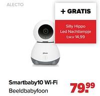Aanbiedingen Alecto smartbaby10 wi-fi beeldbabyfoon - Alecto - Geldig van 30/08/2021 tot 25/09/2021 bij Baby-Dump