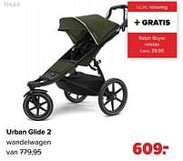 Aanbiedingen Urban glide 2 wandelwagen - Thule - Geldig van 30/08/2021 tot 25/09/2021 bij Baby-Dump