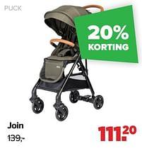 Aanbiedingen Join - Puck - Geldig van 30/08/2021 tot 25/09/2021 bij Baby-Dump