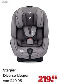 Aanbiedingen Stages - Joie - Geldig van 30/08/2021 tot 25/09/2021 bij Baby-Dump