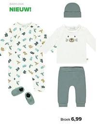 Aanbiedingen Babylook broek - Baby look - Geldig van 30/08/2021 tot 25/09/2021 bij Baby-Dump