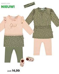 Aanbiedingen Babylook jurk - Baby look - Geldig van 30/08/2021 tot 25/09/2021 bij Baby-Dump