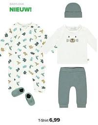 Aanbiedingen Babylook t-shirt - Baby look - Geldig van 30/08/2021 tot 25/09/2021 bij Baby-Dump
