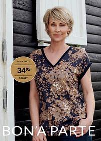 Aanbiedingen T-shirt - Huismerk - Bonaparte - Geldig van 04/09/2021 tot 31/10/2021 bij Bonaparte