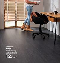 Aanbiedingen Laminaat kimble - Huismerk - Kwantum - Geldig van 20/09/2021 tot 03/10/2021 bij Kwantum