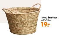 Aanbiedingen Mand bordeaux - Huismerk - Kwantum - Geldig van 20/09/2021 tot 03/10/2021 bij Kwantum