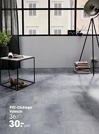 Aanbiedingen Pvc-clicktegel valencia - Huismerk - Kwantum - Geldig van 20/09/2021 tot 03/10/2021 bij Kwantum