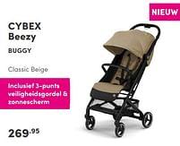Aanbiedingen Cybex beezy buggy classic beige - Cybex - Geldig van 12/09/2021 tot 18/09/2021 bij Baby & Tiener Megastore