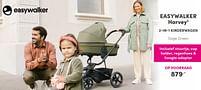 Aanbiedingen Easywalker harvey3 2-in-1 kinderwagen sage green - Easywalker - Geldig van 12/09/2021 tot 18/09/2021 bij Baby & Tiener Megastore