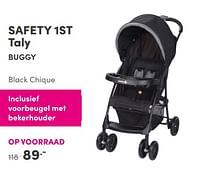 Aanbiedingen Safety 1st taly buggy black chique - Safety 1st - Geldig van 12/09/2021 tot 18/09/2021 bij Baby & Tiener Megastore