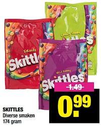 Aanbiedingen Skittles - Skittles - Geldig van 13/09/2021 tot 26/09/2021 bij Big Bazar