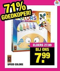Aanbiedingen Speed colors - 999games - Geldig van 13/09/2021 tot 26/09/2021 bij Big Bazar