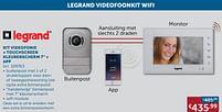 Aanbiedingen Kit videofonie + touchscreen kleurenscherm 7`` + app - Legrand - Geldig van 21/09/2021 tot 19/10/2021 bij Zelfbouwmarkt