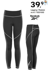 Aanbiedingen Legging - reebok - Reebok - Geldig van 17/09/2021 tot 10/10/2021 bij Bristol