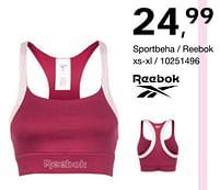 Aanbiedingen Sportbeha - reebok - Reebok - Geldig van 17/09/2021 tot 10/10/2021 bij Bristol
