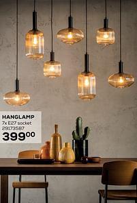 Aanbiedingen Hanglamp - Lucide - Geldig van 14/09/2021 tot 12/10/2021 bij Supra Bazar