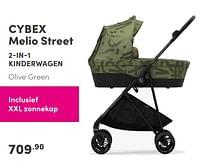 Aanbiedingen Cybex melio street 2-in-1 kinderwagen - Cybex - Geldig van 19/09/2021 tot 25/09/2021 bij Baby & Tiener Megastore