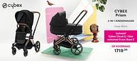 Aanbiedingen Cybex priam 3-in-1 kinderwagen - Cybex - Geldig van 19/09/2021 tot 25/09/2021 bij Baby & Tiener Megastore