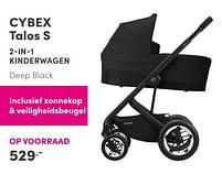 Aanbiedingen Cybex talos s 2-in-1 kinderwagen - Cybex - Geldig van 19/09/2021 tot 25/09/2021 bij Baby & Tiener Megastore