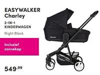 Aanbiedingen Easywalker charley 2-in-1 kinderwagen - Easywalker - Geldig van 19/09/2021 tot 25/09/2021 bij Baby & Tiener Megastore