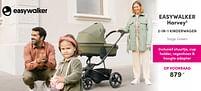 Aanbiedingen Easywalker harvey3 2-in-1 kinderwagen - Easywalker - Geldig van 19/09/2021 tot 25/09/2021 bij Baby & Tiener Megastore