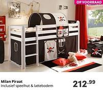 Aanbiedingen Milan piraat - Huismerk - Baby & Tiener Megastore - Geldig van 19/09/2021 tot 25/09/2021 bij Baby & Tiener Megastore