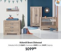 Aanbiedingen Kidsmill brent oldwood - Kidsmill - Geldig van 21/09/2021 tot 18/10/2021 bij Babypark