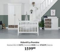 Aanbiedingen Kidsmill la première - Kidsmill - Geldig van 21/09/2021 tot 18/10/2021 bij Babypark