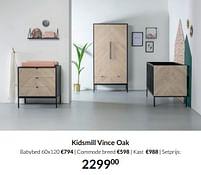 Aanbiedingen Kidsmill vince oak - Kidsmill - Geldig van 21/09/2021 tot 18/10/2021 bij Babypark